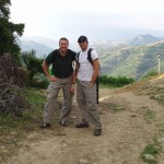 Rob and Jeff in Albania